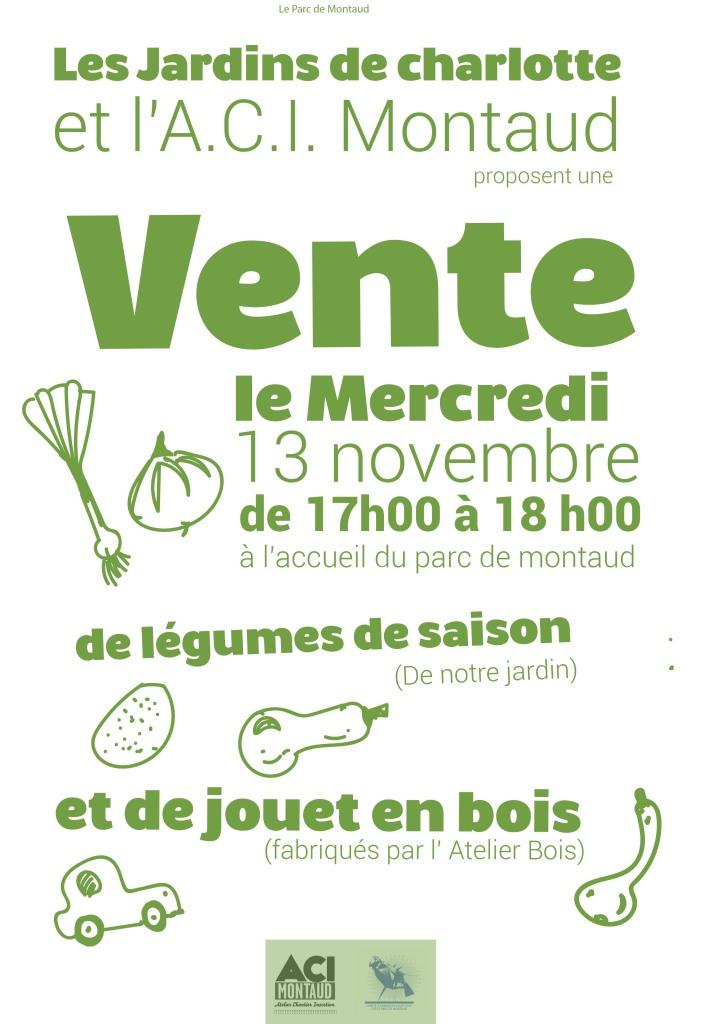 affiche vente legumes